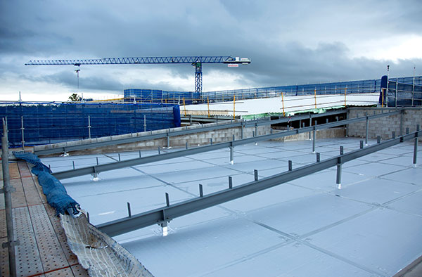Palmerston Hospital Roof System Application