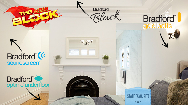A true sanctuary for your guests' room created by The Block and Bradford Insulation