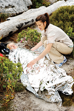 Thermoseal is like a survival blanket