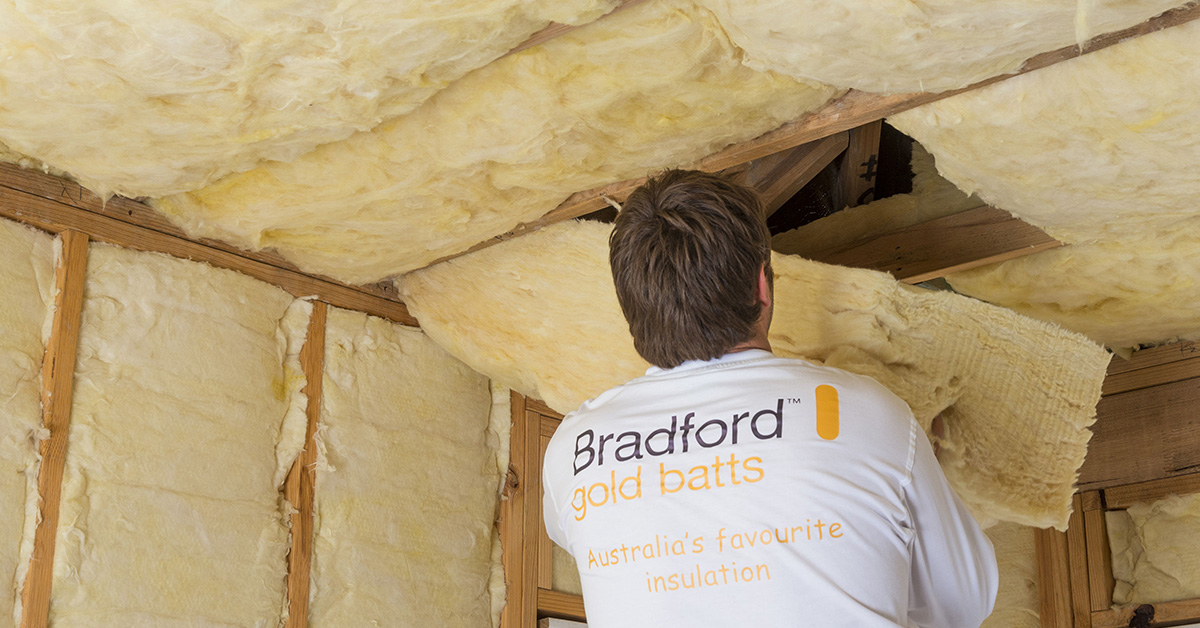 Bradford Gold Ceiling Batts Insulation For Your Roof Space