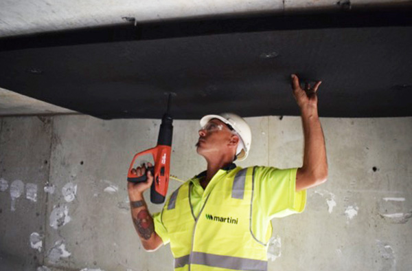 Case Study Black Acoustic Insulation For Semi Exposed
