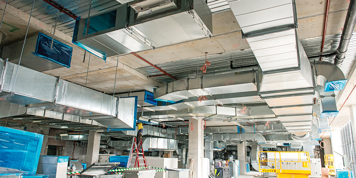 Case Study Acoustic And Thermal Insulation For Hvac Ducts